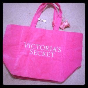 Pink Victoria's Secret Bag